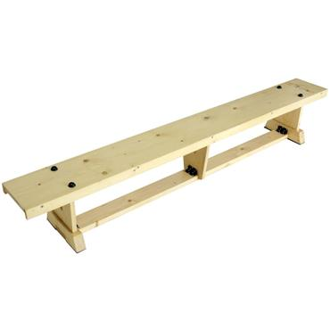 Sure Shot Lite Wood Bench 2m (6FT 7IN) - PLAIN