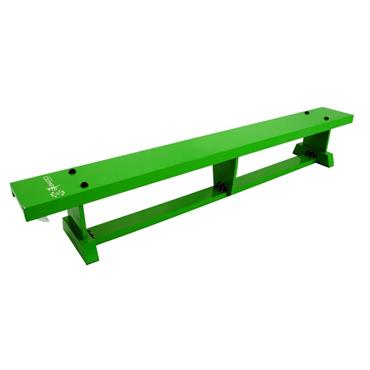 Sure Shot Lite Wood Coloured Bench 2M (6FT 7IN) - Green