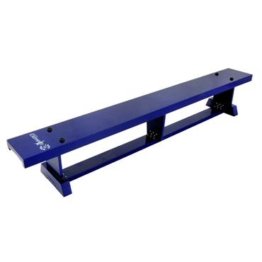 Sure Shot Lite Wood Coloured Bench 2M (6FT 7IN) - BLUE