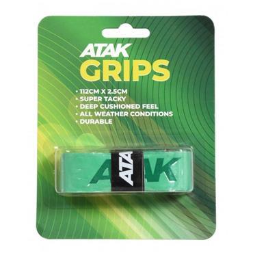 Atak Short Hurling Grips - Green