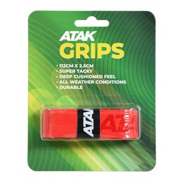 Atak Short Hurling Grips - Red