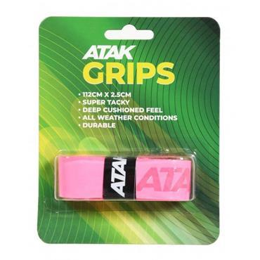 Atak Short Hurling Grips - Pink