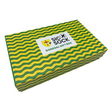 Sic Sock Donegal GAA Mens Socks Gift Box - Green