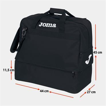 Joma Training Bag III (Medium) - BLACK