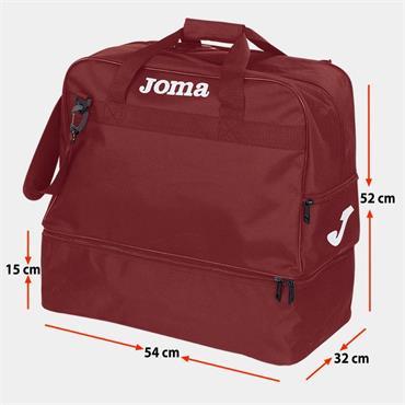 Joma Training Bag III (XLarge) - Burgandy