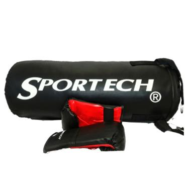SPORTECH BOXING SET - Red