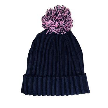 ONeills Donegal Portland83 Bobble Hat - Navy/Pink