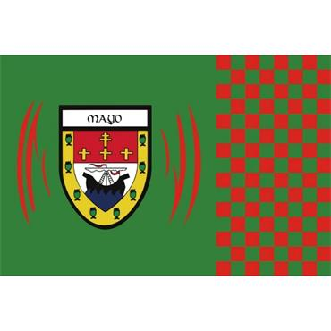 MAYO FLAG LARGE - GREEN/RED