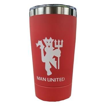 Man United Travel Mug - Red