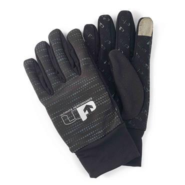 Ultimate Performance Reflective Glove Large - BLACK