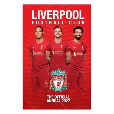 Liverpool FC Annual 2022 - Red