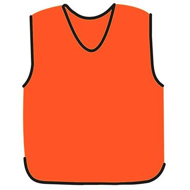 Precision Mesh Training Bib - Orange