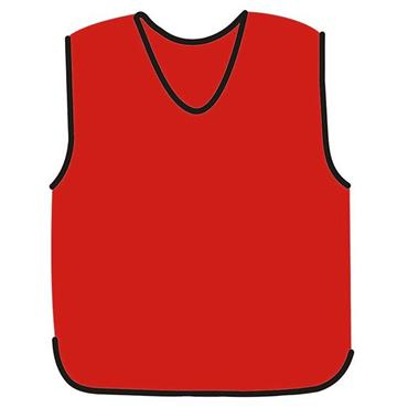 Precision Mesh Training Bib - Red
