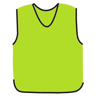 Precision Mesh Training Bib - Yellow