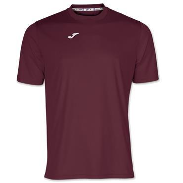Joma Combi T-Shirt - Burgandy