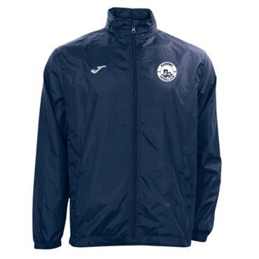 JOMA RASHENNY FC KIDS IRIS RAIN JACKET - Navy