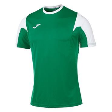 Joma Kids Estadio T-Shirt - Green/White