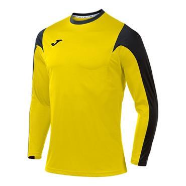 Joma Adults Estadio LS T-Shirt - Yellow