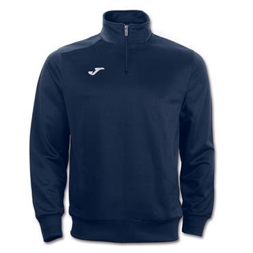 Joma Adults Farron HZ Sweatshirt - Navy