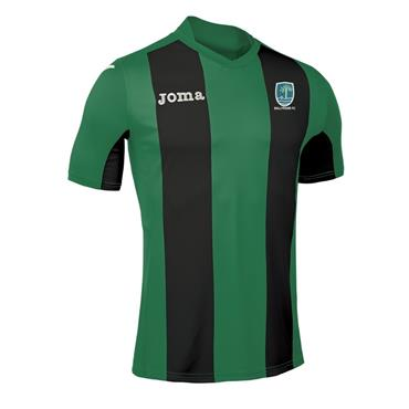Joma Adults Ballyraine FC Jersey (Crest Name and Number) - BLACK