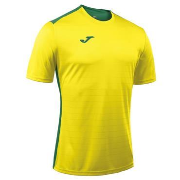 Joma Adults Campus II T-Shirt - Yellow