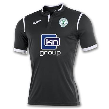 ADULTS FINN HARPS THIRD JERSEY 2018 - BLACK