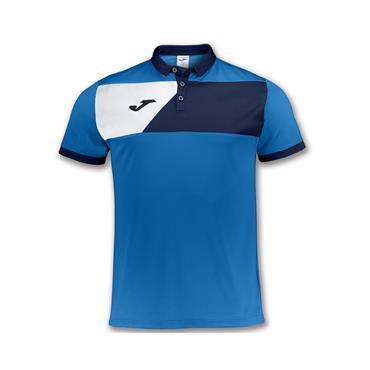 Joma Adults Crew II Polo Shirt - Blue