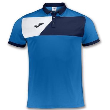 Joma Kids Crew II Polo Shirt - Blue