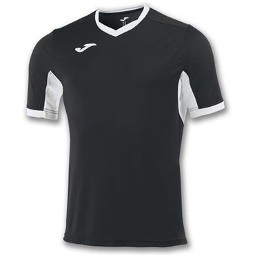 Joma Kids Champion IV T-Shirt - Black/White
