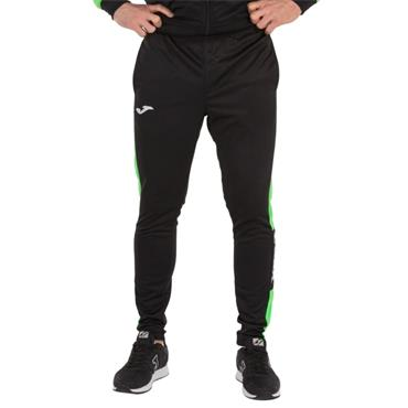 Joma Championship IV Tracksuit Bottoms - Black/Green