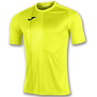 Joma Adults Tiger T-Shirt - Yellow