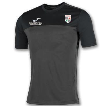 Joma Adults Na Rossa GAA T-Shirt - BLACK