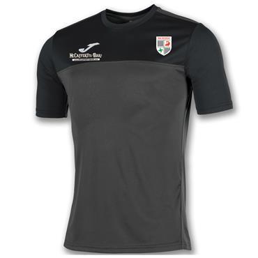 Joma Kids Na Rossa GAA T-Shirt - BLACK