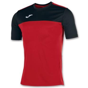Joma Kids Winner T-Shirt - Black/Red