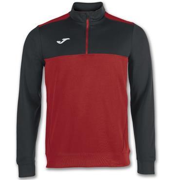 Joma Winner Half Zip Top - Red/Black
