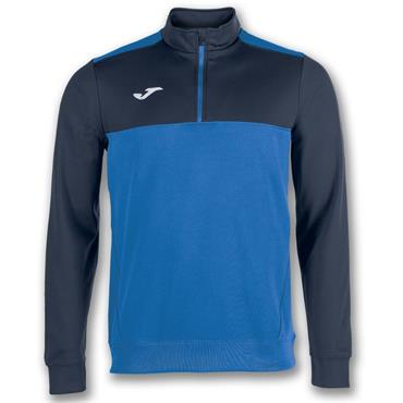 Joma Mens Winner HZ Sweatshirt - Royal/Navy