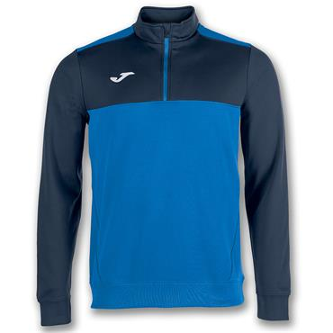 Joma Kids Dunfanaghy Youths Winner Half Zip - Royal/Navy