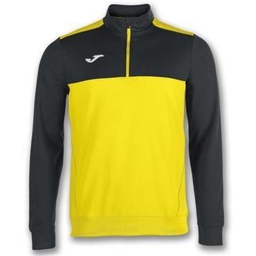 Joma Winner Half Zip Top - Yellow/Black