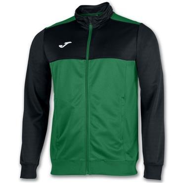 Joma Adults Winner FZ Jacket - Green/Black