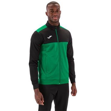 Joma Winner Full Zip Top - Green/Black