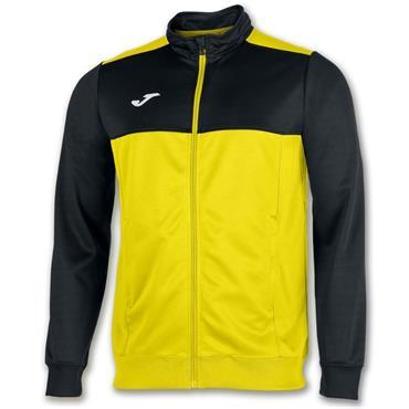 Joma Winner Full Zip Top - Yellow/Black