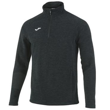 Joma Kids Ottawa Polar Half Zip Top - Black