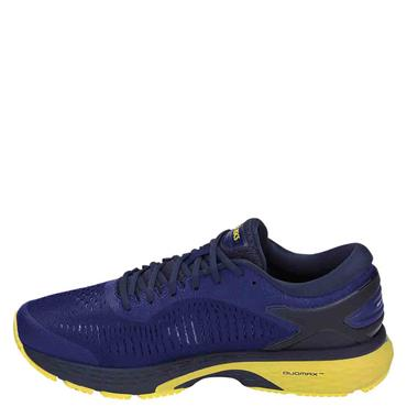 ASICS MENS GEL KAYANO 25 - BLUE/YELLOW