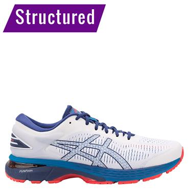 MENS GEL-KAYANO 25 RUNNING SHOE - WHITE