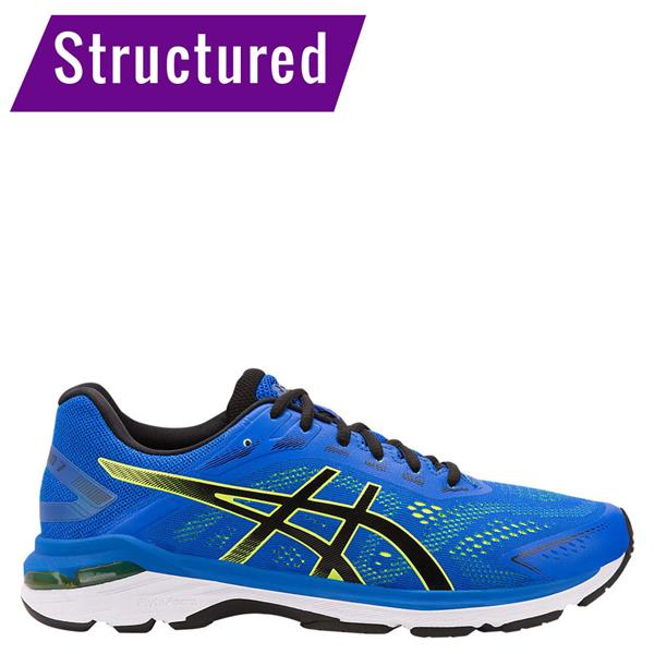 9d6f91d491 Asics Mens Gt-2000 7 Running Shoe - Blue/Black