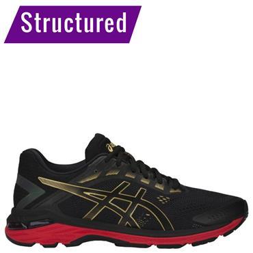 ASICS Mens GT-2000 7 Running Shoe - Black/Red