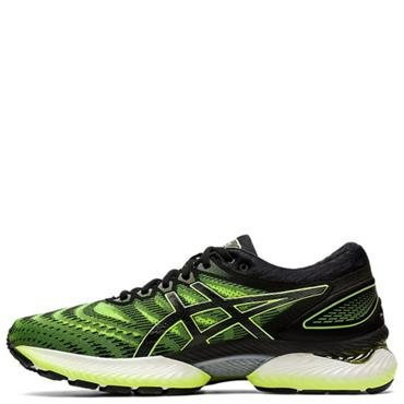 ASICS Mens Gel Nimbus 22 Running Shoe - Black/Yellow