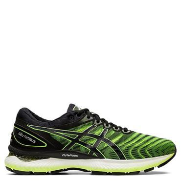 ASICS Mens Gel Nimbus 22 Running Shoe - Black/Yellow