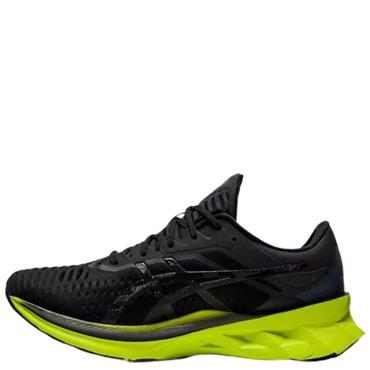 Asics Mens Novablast Running Shoe - BLACK