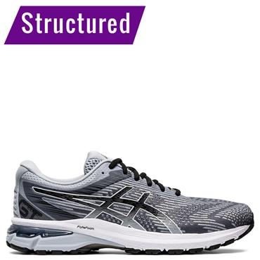 ASICS Mens GT 2000 8 Running Shoes - Grey/Black